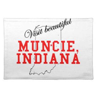 Visit Beautiful Muncie, Indiana Placemat