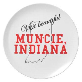 Visit Beautiful Muncie, Indiana Plate