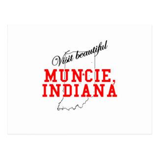Visit Beautiful Muncie, Indiana Postcard