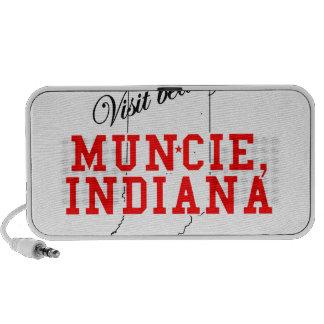 Visit Beautiful Muncie, Indiana Laptop Speakers
