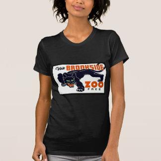 Visit Brookside Zoo Free - WPA Poster - T-Shirt