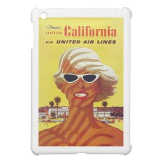 Visit California Vintage Travel Poster iPad Mini Cases
