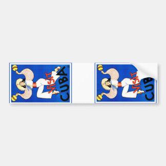 Visit Cuba Vintage Bumper Sticker