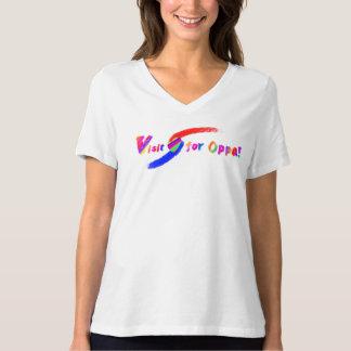 Visit for Oppa T-Shirt