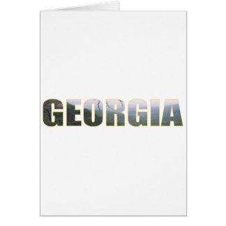 Visit Georgia Greeting Card