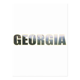 Visit Georgia Postcard