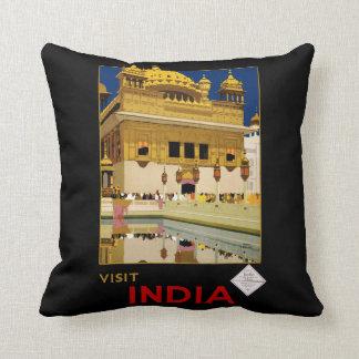 Visit India Cushion