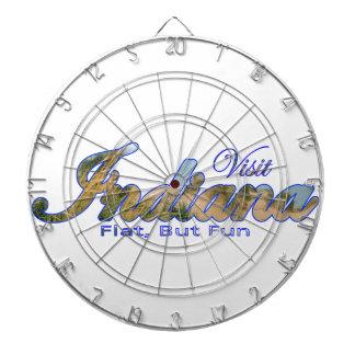 Visit Indiana, Flat But Fun Dartboard