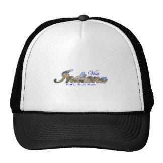 Visit Indiana, Flat But Fun Mesh Hat
