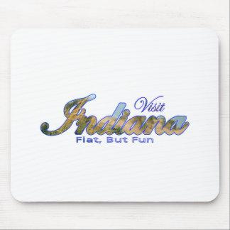 Visit Indiana, Flat But Fun Mouse Pads