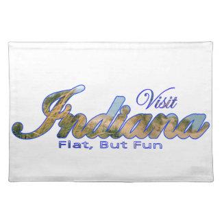 Visit Indiana, Flat But Fun Place Mat