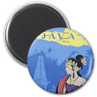 Visit Java Refrigerator Magnet