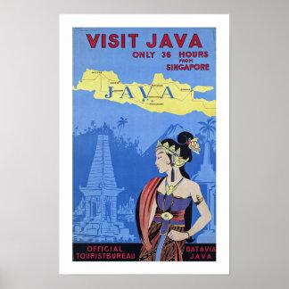 Visit Java Poster
