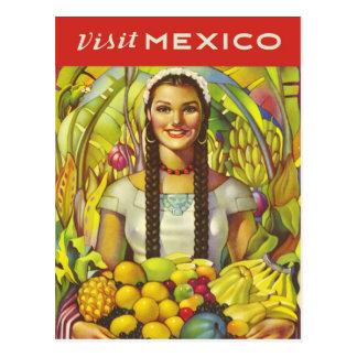 Visit Mexico Postcard