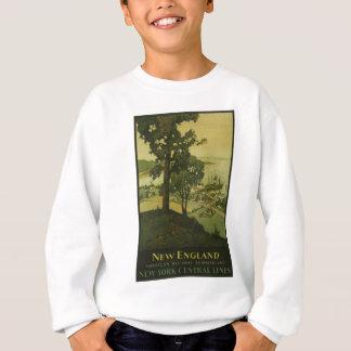 Visit New England Vintage Poster Sweatshirt