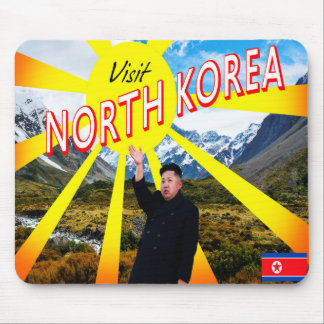 Visit North Korea Mouse Mat