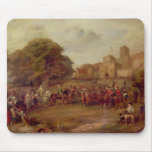 Visit of James I to Houghton Tower Mouse Mat