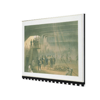Visit of the Prince of Wales to the SS Great Easte Canvas Print