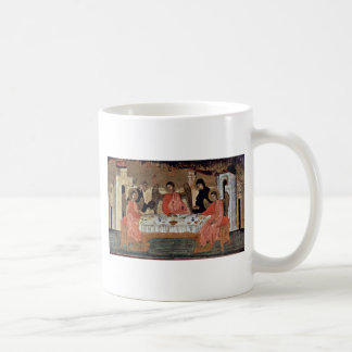 Visit Of The Three Angels With Abraham And Its Hos Coffee Mug