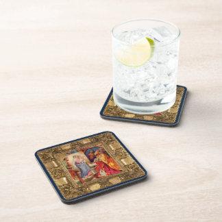 Visit of the Wise Men Beverage Coasters