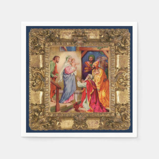 Visit of the Wise Men Paper Napkin