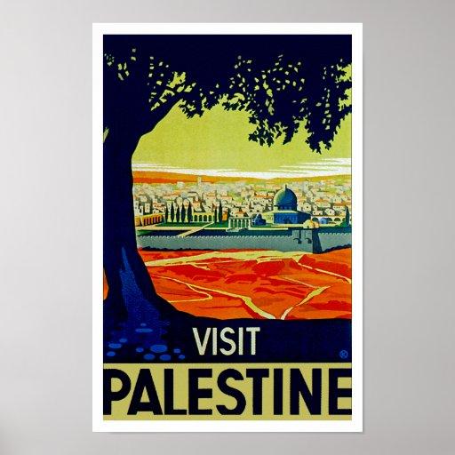 Visit Palestine Posters