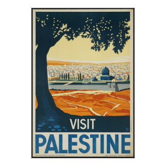 Visit Palestine Print