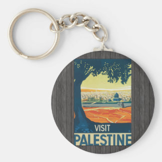Visit Palestine, Vintage Key Ring