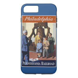 Visit Philadelphia on The Pennsylvania Railroad iPhone 7 Plus Case