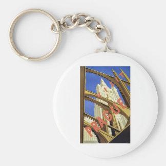 Visit Prague Czech Republic Key Ring