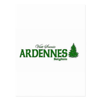 Visit Scenic Ardennes Postcard