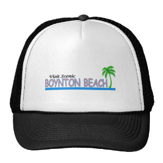 Visit Scenic Boynton Beach Mesh Hat