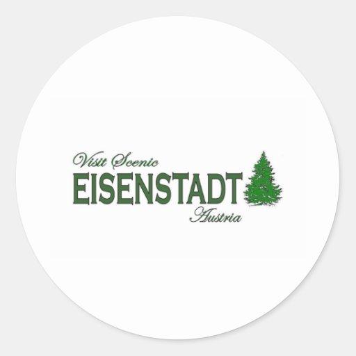 Visit Scenic Eisenstadt Stickers