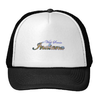 Visit Scenic Indiana Trucker Hats