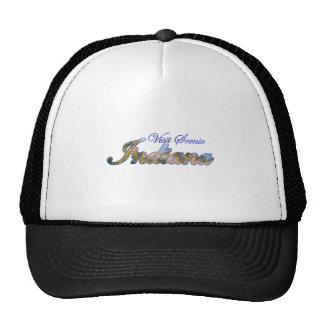 Visit Scenic Indiana Trucker Hats