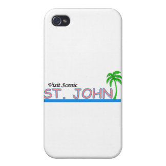 Visit Scenic St. John iPhone 4/4S Cases