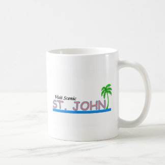 Visit Scenic St John Coffee Mug