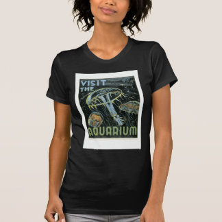 Visit the Aquarium - WPA Poster - T-Shirt