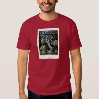 Visit the Aquarium - WPA Poster - Tee Shirts