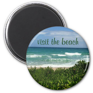 visit the beach magnet