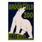 Visit the Brookfield Zoo Poster