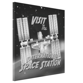 Visit the International Space Station Canvas Prints
