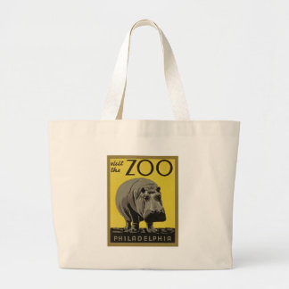 Visit the Philadelphia Zoo Large Tote Bag