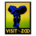 Visit The Zoo!! Poster