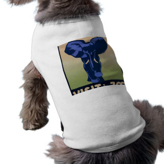 Visit the Zoo Sleeveless Dog Shirt