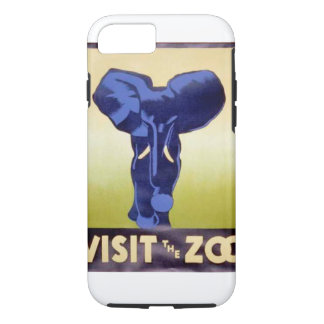 Visit the Zoo Vintage WPA FAP Poster Elephant iPhone 7 Case