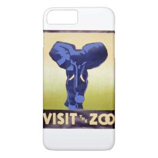 Visit the Zoo Vintage WPA FAP Poster Elephant iPhone 7 Plus Case