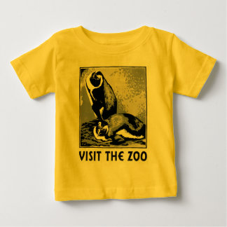Visit the Zoo - WPA Poster - Baby T-Shirt