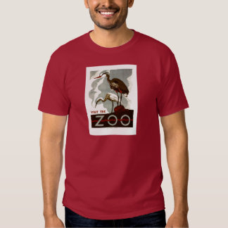 Visit the Zoo - WPA Poster - T Shirt