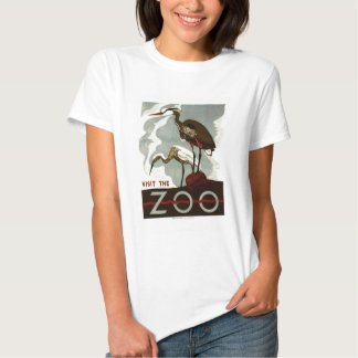 Visit the Zoo - WPA Poster - Tee Shirt
